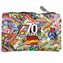 Marvel Movie 70 Anniversary Wallet Captain America Iron Man Superman Long Purse Phone Bags Make Up Bag Multifunctional Wallets