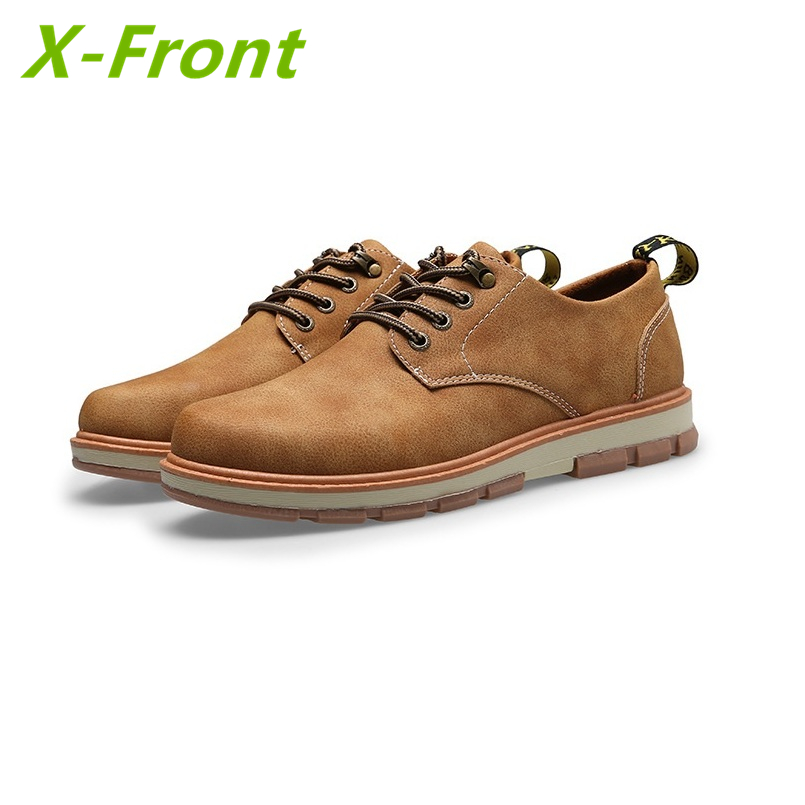 Men Leather Shoes Casual New 2017 Leather Shoes Men Oxford Fashion Lace Up Dress Shoes Outdoor Work  Shoe Sapatos<br>