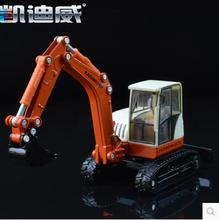 KDW 620001 Crawler Excavator bidirectional operation Forklift 1:50 kids toy car model truck alloy gift  Engineering vehicles