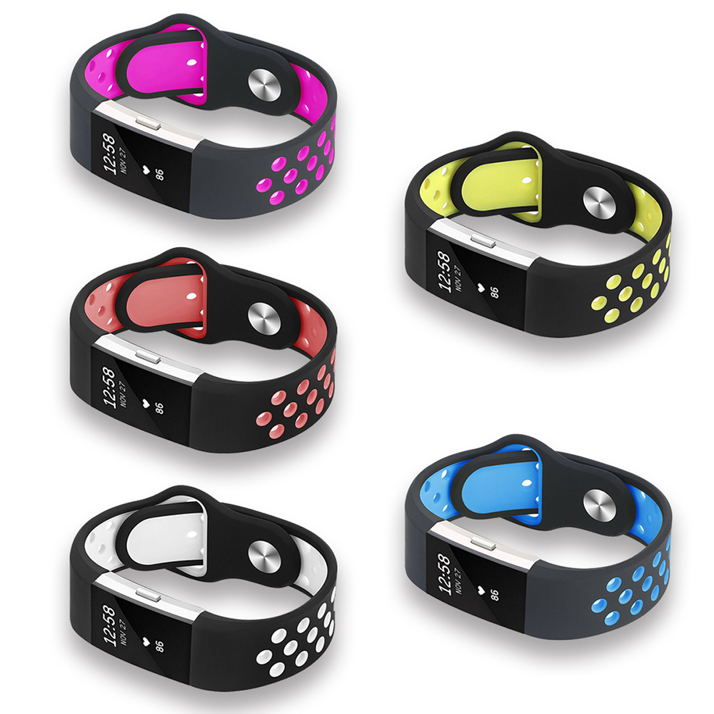 For Fitbit Charge 2 Bands Silicone Replacement Strap For Fitbit Charge 2 Bracelet Smart Wristbands Wearable Devices Accessories 31