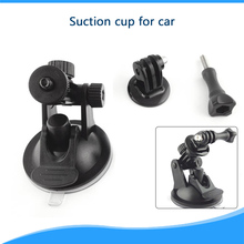 New 2015 Professional Mini Suction Cup Car 7cm Diameter Base holder for GoPro Hero 4/3+/3/2/1 camera car holding use