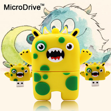 Lovely Cartoon usb stick pen drive 4GB 8GB pendrive usb flash drive usb flash 16GB 32GB 64GB 128GB Ocean Monster Robot usb(China)