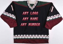 Factory OEM Ice Hockey Jerseys Team Embroidery Mens Supplier Tackle Twill Player Jersey Wholesale Shirt USA CANADA Australia