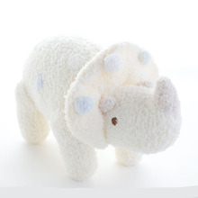 18cm White Baby Plush Toy Dinosaur Triangular Dragon Doll Personality Creative Gift Doll Doll Z0077