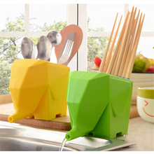 Creative Multi-functional Kitchen Storage Organizer Holder Rack For Chopsticks Tableware Toothbrush Drainer Bathroom Accessories