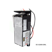 EC-C2000-290L DC-12V Power ON unlock Electronic Lock For Locking Sell-Machine Storage (Signals output)()