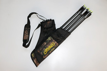 Four Tube Mathews Archery arrow Quiver Hunting Target Quiver  Shoulder Quiver Free Shipping