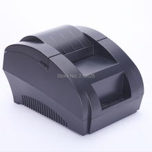 Free shipping New mini 58mm thermal receipt printer ticket pos 58 thermal printer USB