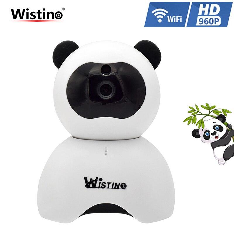 Wistino CCTV Wifi IP Camera 960P Wireless Smart Home Security Camera WiFi Audio Camera Mini Baby Monitor Surveillance 1.3MP PTZ<br>
