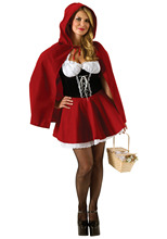 Plus Size Red Riding Hood Costume 6XL 5XL 4XL 3XL 2XL Halloween Women's Fancy Dress(China)