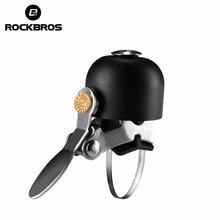 ROCKBROS Stainless Steel Bicycle Bell Bike Sound Handlebar Classical Ring Horn Safety Bike Sport Alarm Bell Bicycle Accessories