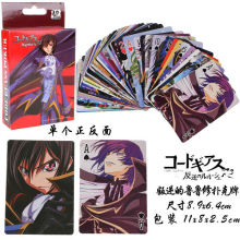 Anime Code Geass Toy Poker Game Collection Card