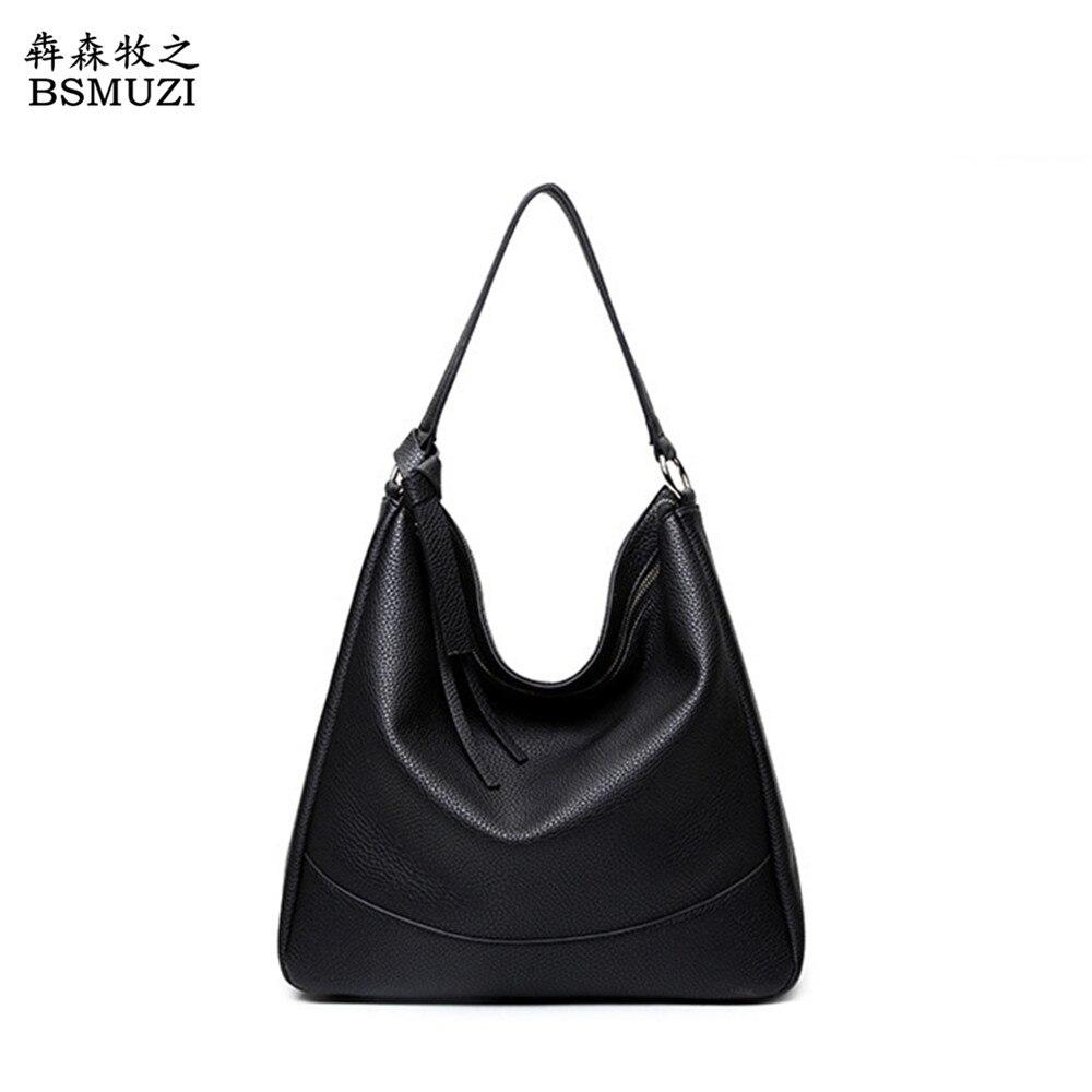 2017 Large Capacity Luxury Women Hobo Bags PU Leather Ladies Handbag Tote Shoulder Bag Hobos Designer Handbags For Women Bolso<br><br>Aliexpress