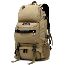 The Best Sell Vintage 40L Backpack Waterproof Bag With Shoes Compartment For Traveler(China)