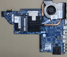 no heat sink!100% tested  665990-001 for HP pavilion DV7 DV7T DV7-6000 laptop motherboard with for Intel hm65 chipset