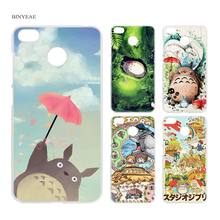 BINYEAE Studio Ghibli Ghiblies totoro neighbor Clear Case Cover Shell for Xiaomi Redmi Note MI A1 4X 5 5A 4 4A 3 Plus 5X(China)