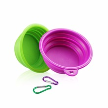 Collapsible Silicone Travel Pet Bowl,Dishwasher Safe BPA FREE Food Grade Silicone Portable Pet Dog Bowls,Dish for Pet Dog Cat