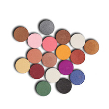 POPFEEL 1PC Mini Eye Makeup Mineral Pigments Powder Eyeshadow Palette 6 Colors Waterproof Pearl Eye Shadow Compound Kits(China)