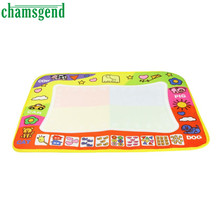 Chamsgend Top Quality Aqua Doodle Children Drawing Toys Mat Magic Pen Educational Toy 1 Mat with 2 Wate A8031