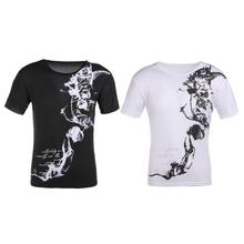 Buy 2018 Summer T Shirt Men Fashion Print Slim Fit Mens T-Shirts Short Sleeve O-Neck Floral Tee Shirt Homme Plus Size Mens Clothes for $3.07 in AliExpress store