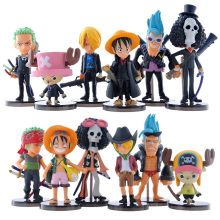 12Styles Anime One Piece Figure 8cm Action Figures Model Toys