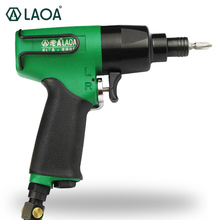 LAOA 8P Self-locking Design Pneumatic Screwdriver Air Screwdriver with Rubber Handle made in Taiwan(China)