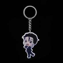 1PC Comic Anime Key Rob Acrylic Key Chain Toy Keyring Pendant Key Holder Decoration Desk Sets School Stationery Office Supplies(China)