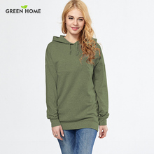 Green Home Casual Solid Nursing Hoody Tops Spring Maternity Clothes with Hood Breastfeeding Hoodies Nursing Sweatershirt(China)