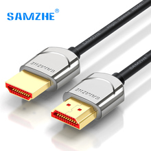 SAMZHE 4K*2K HDMI 2.0 Cable Metal Connector HDMI High Resolution for Laptop TV Xbox Displayer Computer(China)