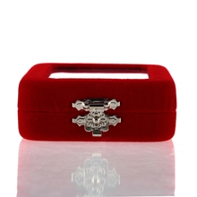 Beautiful and exquisite designed Red Velvet Package Box For Jewellery Gift  Newest