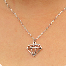 N934 Triangle Vintage Colar Women Pendant Necklace Collares Fashion Jewelry Necklaces & Pendants Geometric Cheap Accessories HOT