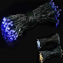 Outdoor Fairy Lamp Waterproof Fairy String Light 17M 22M 100 200 LEDS Solar Powered Light Wedding Party Decoration Christmas(China)