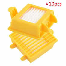 10pcs New Vacuum cleaner parts Hepa Filter Replacement Tool Kit Fit for iRobot Roomba 760 770 780 790 Robotic VCX28 T15 0.5(China)
