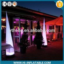 Stage decoration inflatable pillar for wedding event