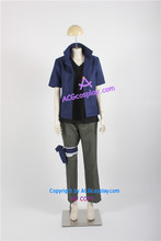 Naruto Team 7 Team Kakashi Sasuke Uchiha Cosplay Costume(China)