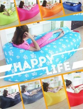15 Color Inflatable Air Sofa Air Bed Lazy Sofa Bag For Camping Beach Outdoor Garden Furniture Lounger Chair Office Sleep Bed