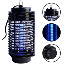 New Arrival  Electric Photocatalyst Mosquito Pest Moth Wasp Killer Home Hotel Restaurant School  Lamp LED Flying Bug Traps Light