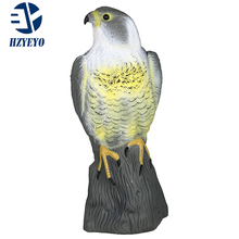 HZYEYO Flying Bird Hawk For Pigeon Hunting Decoy Garden Plant Scarer Pest Control Hunting Shooting DY-001 free shipping(China)