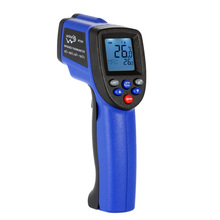 -50~900 degrees Digital LCD Laser IR infrared thermometer Non-Contact termometro Professional Temperature Tester Pyrometer Range(China)