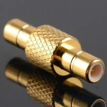 2016 High Quality Adapter SMB Male To SMB Male Plug RF Connector Straight Brass Gold Plating VC728 P30