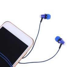 China Super Bass Clear Voice Earphone Headset Mobile Computer MP3 Universal Earphone Cool Outlook