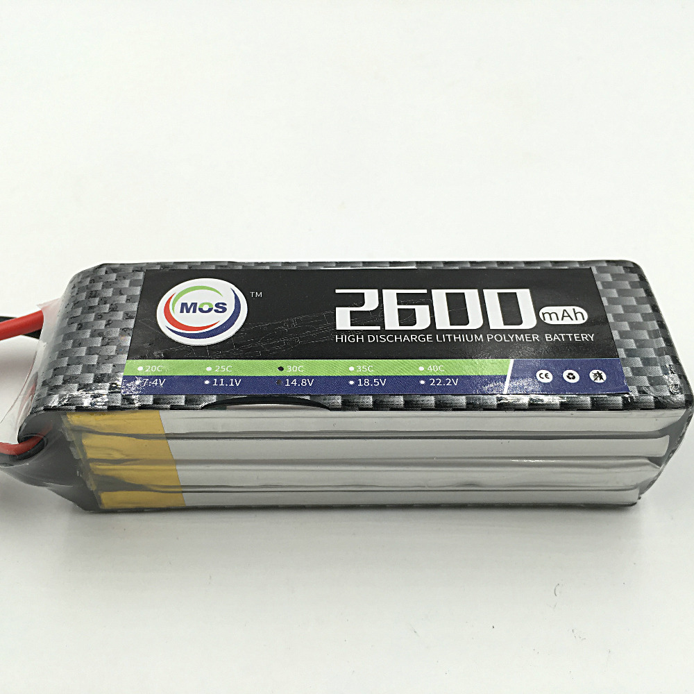 MOS 6S 22.2V 2600mah 30c RC airplane lipo battery for rc helicopter rc car rc boat quadcopter Li-Polymer battey 6s<br>