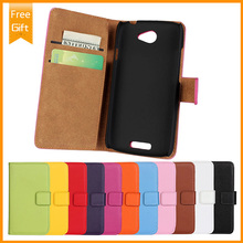 Flip genuine leather Magnetic Closure Flip Case Cover Hard Shell Pouch For HTC One S Z520e Real Wallet + Free Shipping+Gift