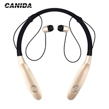 CANIDA Wireless Bluetooth Headset Sports Bluetooth Earphones Headphone with Mic Bass Earphone for Samsung iphone Auriculare