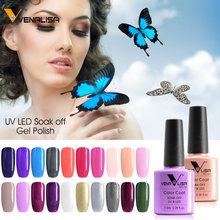 #61508 Venalisa Nail Gel Supply 60 New Colors Gel Lacquer Soak Off UV LED Gel Nail Polish(China)