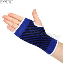 ENNJOI New one Injure Relief Blue Wristband Sport Sweatband Hand Band Wrist Brace Support Gym Volleyball Basketball Wraps Guards(China)