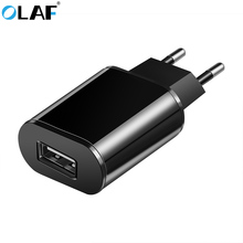 Buy OLAF EU Plug 5V 2A USB Charger Universal Travel Wall Charger Adapter iPhone Samsung Huawei Xiaomi iPad Tablets Mobile Phone for $1.89 in AliExpress store