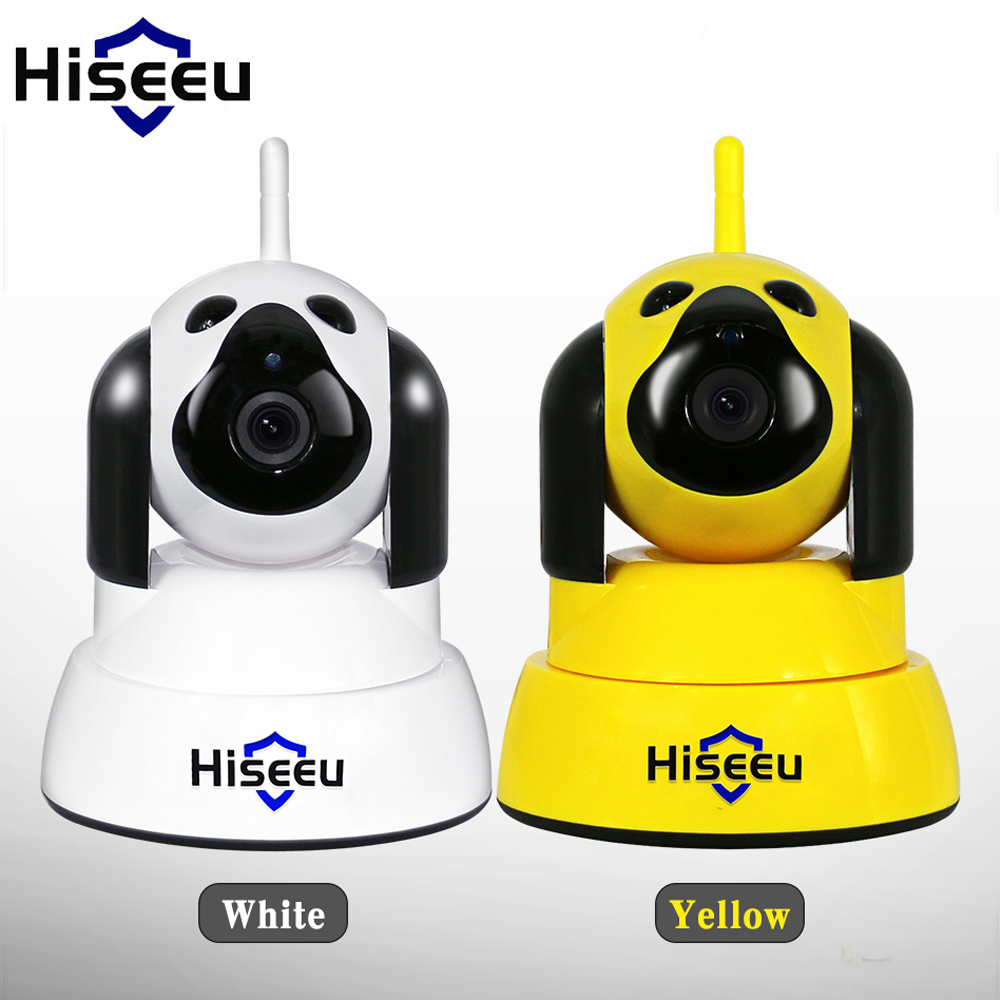 Hiseeu IP Camera 720P Security Camera Home Security IP Camera Wi-Fi Wireless Night Vision CCTV Indoor Baby Monitor Smart Dog<br>