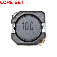 10pcs/lot SMD Power Inductors 10uH 100 Wire Wound Chip Shielded Inductor High Quality CDRH104R