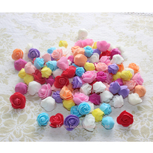 200pcs 2-2.5cm foam artificial rose flower head candy box had welding car decoration accessories DIY rose flower head